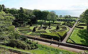 Dunrobin Castle Formal Garden