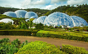 Domes at the Eden Project